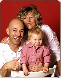 Foto mit Heidi Heintz, Urs Camenzind und Felix